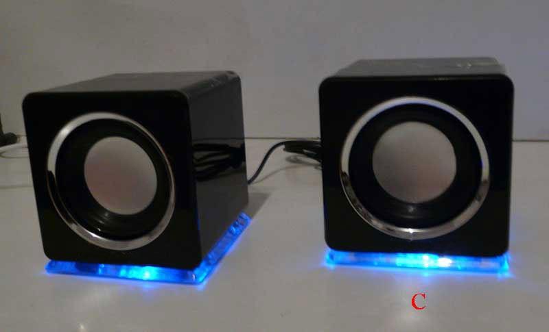 design usb lautsprecher boxen f r laptop pc schwarz. Black Bedroom Furniture Sets. Home Design Ideas