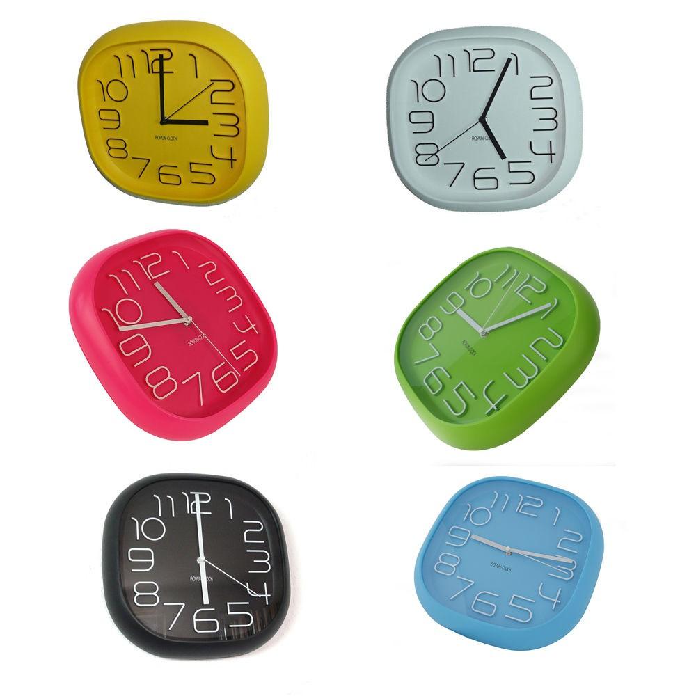 Design orologio da parete ufficio cucina parete uhr017 - Orologio da cucina design ...
